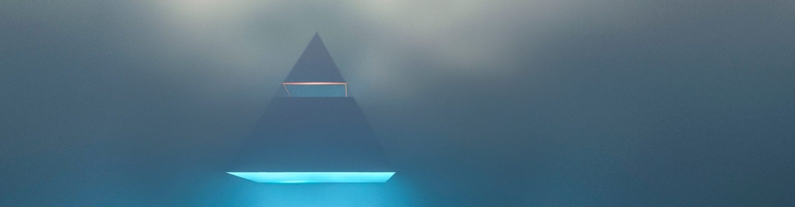 Инфографика в виде пирамид