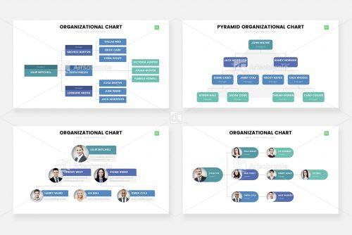 Инфографика организационной диаграммы