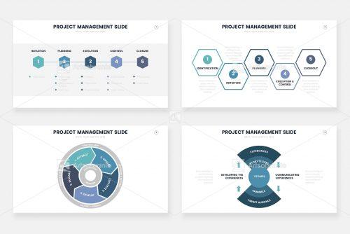 Инфографика управления проектами