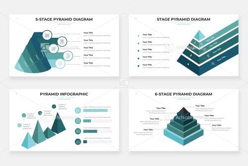 Диаграммы пирамид