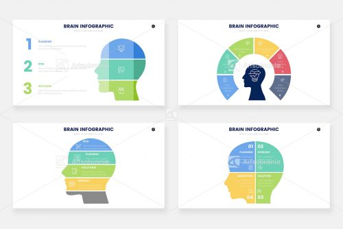 Инфографика исследования мозга