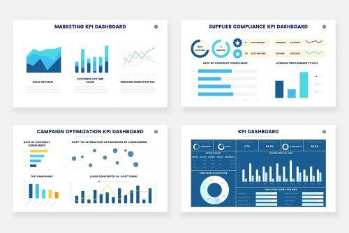 Инфографика показателей KPI