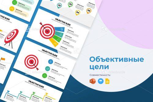Инфографика объективных целей