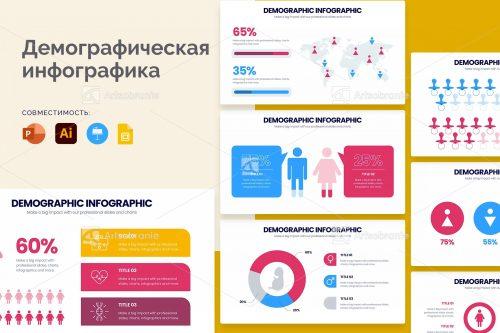 Демографическая инфографика