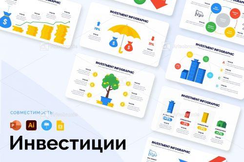 Шаблоны инвестиционной инфографики